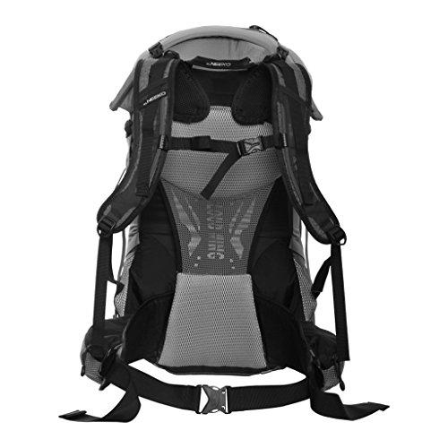 AMOS Al aire libre alpinismo bolso hombro hombres y mujeres bolsa de viaje de gran capacidad bolso de viaje mochila 45L ( Color : Rojo ) Amarillo
