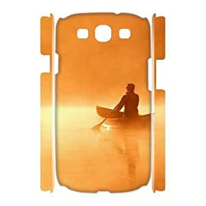 Customized Phone Case with Hard Shell Protection for Samsung Galaxy S3 I9300 3D case with Canoe lxa#247801