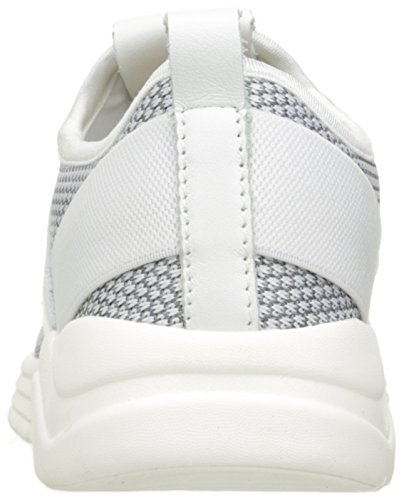 Fly London Dame Salo825fly Mote Sneaker Off White Strikke / Skinn