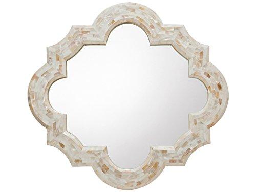 kouboo Quatrefoil Kabibe Shell Espejo de pared