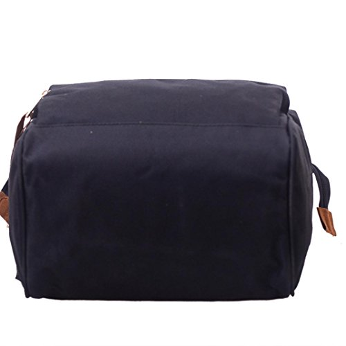 Casual Double for School Lightweight Shoulder Backpack Zipper Bags Work Bookbags and Outdoor Travel Fashion Softback Men Daily Unisex Bags 8qwBaa