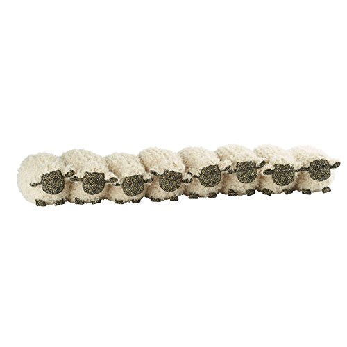 Flock of Sheep Draft Stopper - Door and Window Breeze Guard - 32'' Long by Dora Designs