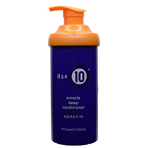 It's a 10 Haircare Miracle Deep Conditioner Plus Keratin, 17.5 fl. oz. (Best Cheap Deep Conditioner)