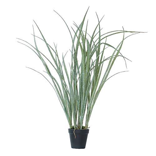 人工観葉植物 グラスポット(4個セット) ba050 (代引き不可) インテリアグリーン 造花 POT GRASS B07SV6LH5R