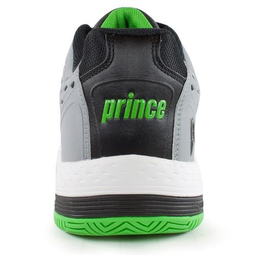Prince Warrior Men S Tennis Shoe Grey Black Green