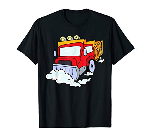 Snowplow Truck T-Shirt | Snow Plough Digger Toddler Shirt