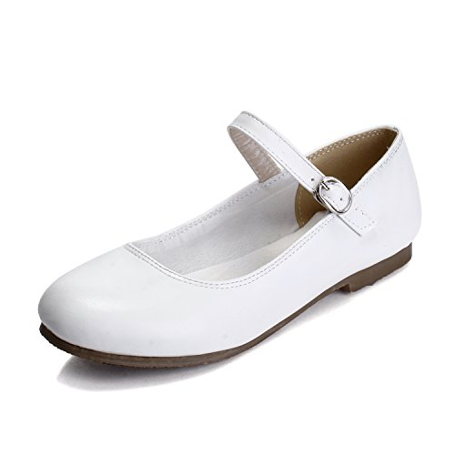 MFairy Woman's Fashion Spring/Summer Casual Vintage Mary Jane Shoes (Shoes Vintage White)