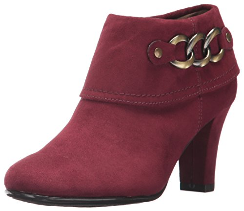 Aerosoles Women's First Role Ankle Boot Wine Fabric