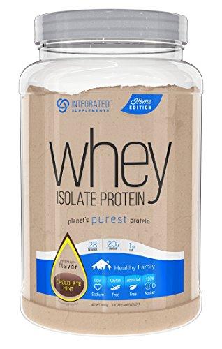 Integrated Supplements CFM Whey Protein Isolate Diet Supplement, Choc Mint, 2 Pound