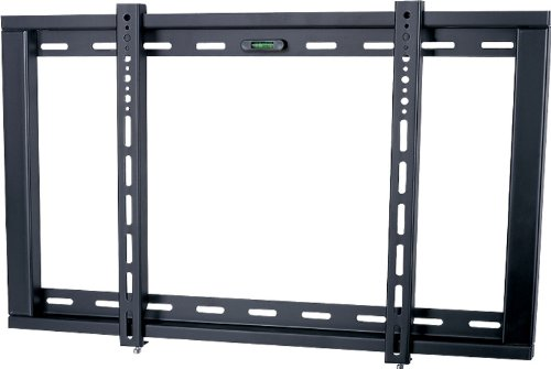 Ultimate Mounts UM104M Black Fixed Strong Wall Mount Bracket up to 60 inch...
