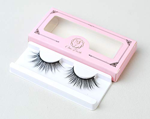 One Lash 3D Faux Mink Eyelash Extension Lightweight and Reusable Handmade False Eyelashes Na (Ice Queen)