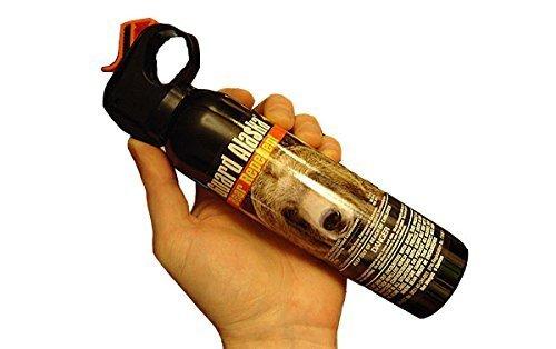Pepper Defense Combo Pack Guard Alaska Bear Repellent with Belt Clip Holster Max Strength 10% OC Pepper Spray w/Hand Strap