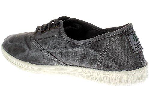 Natural World Eco 612E Damen Sneaker 623 Grau Grau