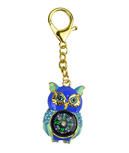 New Feng Shui Wise Owl Compass W Fengshuisale Red String Bracelet (blue)