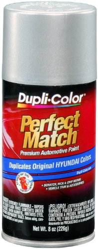Dupli-Color BHY1800 Bright Silver Metallic Hyundai Perfect Match Automotive Paint - 8 oz. Aerosol