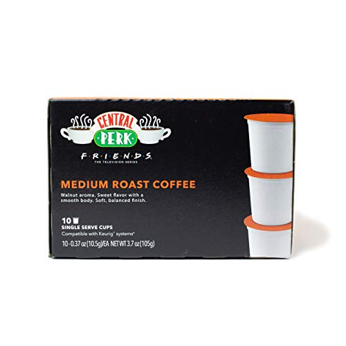 """Friends"" 25th Anniversary Limited Edition Central Perk Medium Roast K-Cups (10 ct) for use with Keurig Compatible Single Serve Machines"