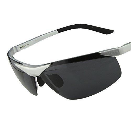Duco Mens Sports Style Polarized Sunglasses Driver Glasses 6806S