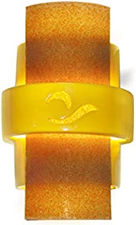 product image for ReFusion South Beach 1 Light Wall Sconce Finish: Sunflower Yellow and Tangelo