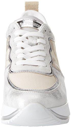 La Martina Women's Sneaker Trainers Beige (Beige 230) Lvhgs0d