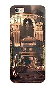 Iphone 6 Plus Case Cover - Slim Fit Tpu Protector Shock Absorbent Case (ancient Rome)