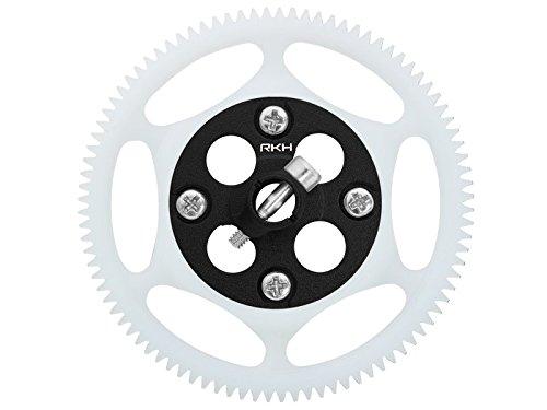 Rakonheli CNC Delrin 92T Main Gear w/AL Hub Set (Black) - Blade 130S - Delrin Main Gear