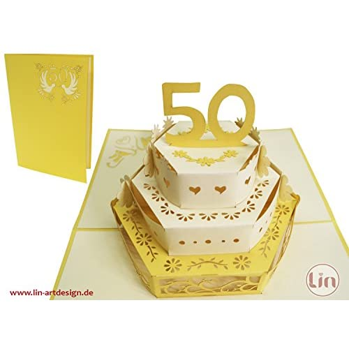 Lovely Lin Pop Up Cartes De Mariage Mariage 50 Cartes De