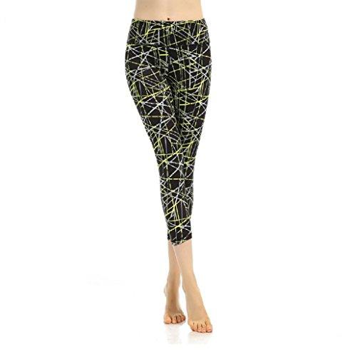 Tela Polainas Oudan Yoga Negro Pantalones De La Jogging Compresión Aptitud Mujer Deportivos rx44YzXw