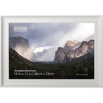 fotove 13x19 elegance picture photo frame 13 x 19 inch 13 in x 19 in white
