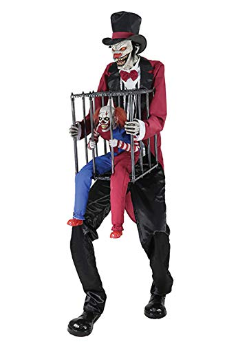 Clown Props Halloween - Seasonal Visions Animated Rotten Ringmaster with