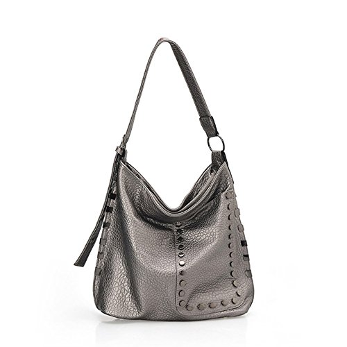 Elegant Moments Vinyl Collection (Walcy Fashionable PU Leather Leisure Women's Handbag,Bucket-Type Bucket Bag HB880001C3)
