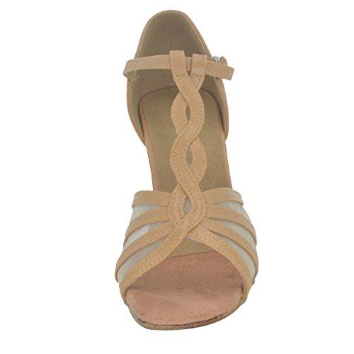 Chaussures De Avec Sandales Salsa nbsp;cm Talon Open Femmes Jig Tango toe 8 Foo Latine 9 Danse Pour C80qx0
