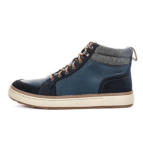 De Bleu Chaussures Lorsen Haut Haut Clark Marine Sport wlined Ica Hommes 7q6XxwgI0
