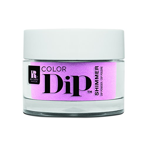 Red Carpet Manicure Color Dip Nail Dip Powder, Brigh As Can Be Pink 0.3 oz