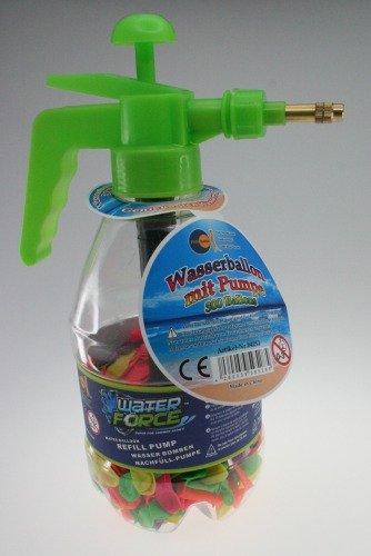 Wasserbomben-Set, inkl Pumpe+300 Ballo