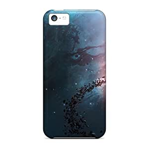 Brand New 5c Defender Case For Iphone (nebula Universe)