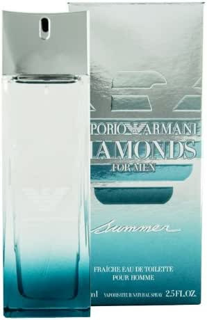 Emporio Armani Diamonds Summer Edt Fraiche Spray For Men 2.5 oz