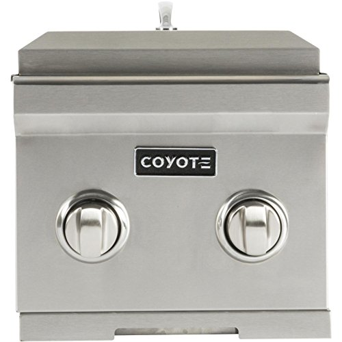 Coyote Built-in Natural Gas Double Side Burner – C1dbng