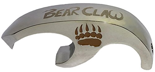 Bear Opener - Bear Claw Shotgun Tool and Bottle Opener | Fits on a Keychain | Perfect for Parties, Tailgates, Barbeques, and Beer Lovers | Chug like a Pro, make Shotgunning easy!