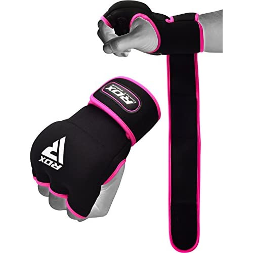 Ard Boxing Fist Inner Gloves Hand Wraps Muay Thai Boxing Martial Arts black