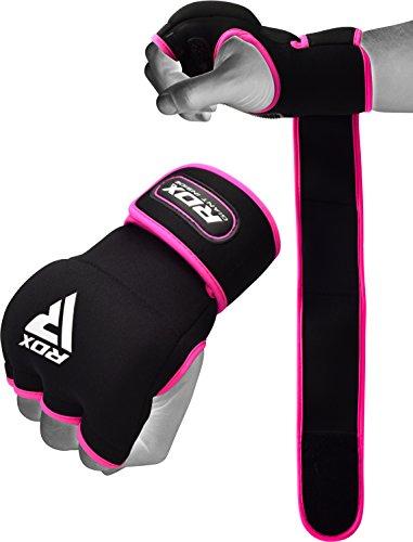 RDX Hand Wraps Ladies Boxing Inner Gel Gloves Fist knuckle Protector Muay Thai MMA Women Bandages Neoprene Padded Kickboxing Mitts