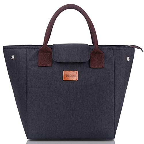 Top recommendation for insulated lunch tote for women black