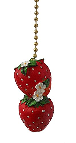 Strawberry Ceiling Fan Pull by Clementine