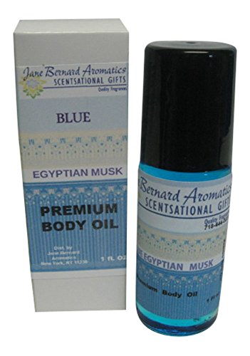 Musk Type - JANE BERNARD BLUE EGYPTIAN MUSK_Type Unisex Fragrance Body Oil_1 Ounce Jumbo Roll on