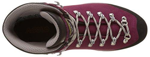 Asolo Tribe Gv ml, Zapatos de High Rise Senderismo para Mujer Morado (Arnum Grapeade)