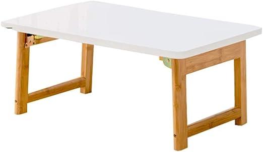 QFF-Escritorio de computadora Pequeña mesa blanca, cama en el ...