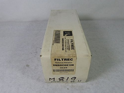 Filtrec DMD0030E10B Hydraulic Filter Element