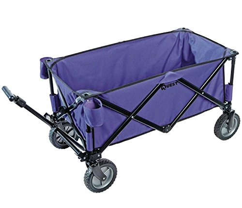 Folding Utility Sports Wagon - Multicolors (Purple)