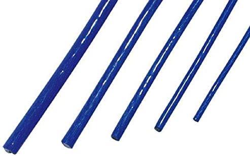 Cable de masse Bleu OFC 10mm2-1m ADNAuto