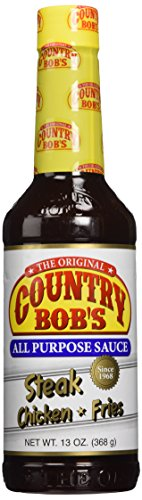 Country Bob's All Purpose Sauce, 13 Ounce (Pack of 6)
