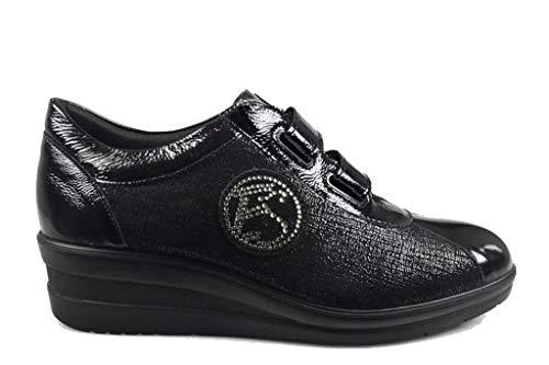Sneaker Enval Donna Enval Nero 22672 22672 w4xSYq8t